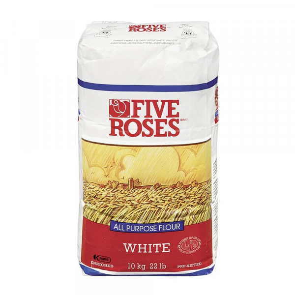 FIVE ROSE all purpose white flour  / 五玫瑰白面粉 - 10kg