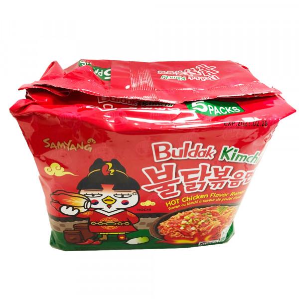 Hot chicken flavor ramen / 韩国辣鸡面