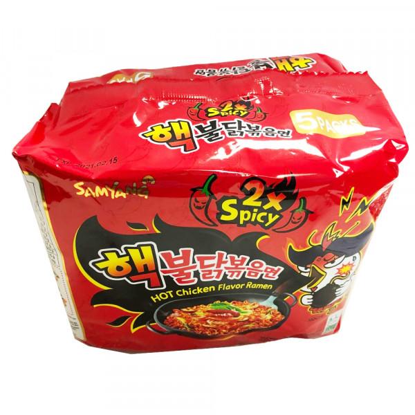 Hot chicken flavor ramen SPICY X 2 / 韩国辣鸡面