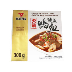 Cooked duck blood curds / 火锅鸭血 - 300g