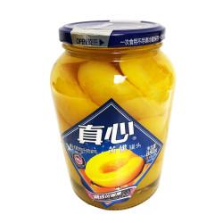 Canned Yellow Peach / 真心牌黄桃罐头 - 880g