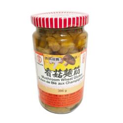 KIMLAN Mushroom Wheat Gluten / 金兰香菇面筋 - 396g