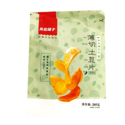 Bestore Thinly sliced potato chips (Spicy flavor) / 良品铺子薄切土豆片(香辣味)- 205g