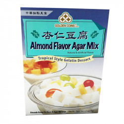 Golden Coins Almonde Flavor Agar Mix / 杏仁豆腐 - 176g