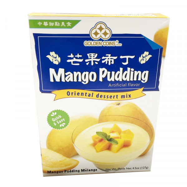 Golden Coins Mango Pudding / 芒果布丁 - 127g
