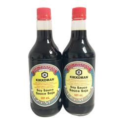 Kikkoman Soy Sauce / 日本万字酱油 -591ml