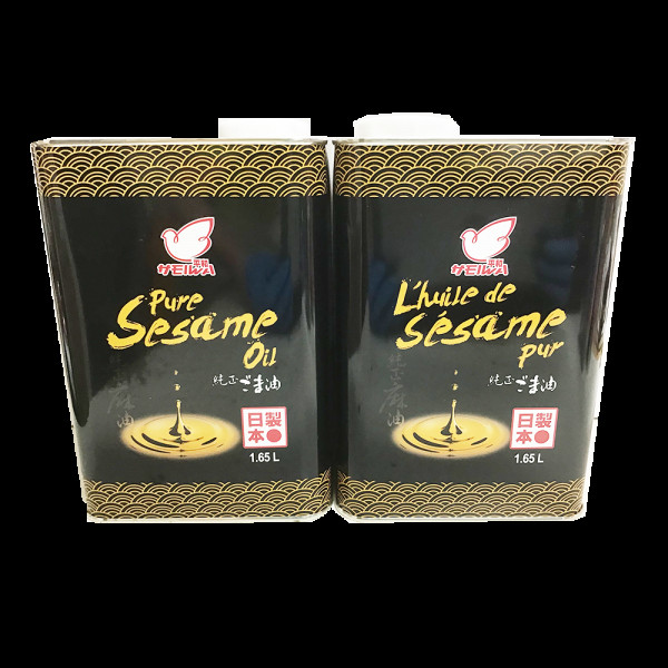 Pure Sesame Oil / 日本平和纯芝麻油  - 1.65L
