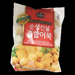 Assorted Fried Fish Balls / 韩国混合鱼丸- 500 g
