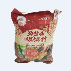 LuoBaWang Tomato Instant Rice Noodles / 螺霸王蕃茄味螺蛳粉 - 306g