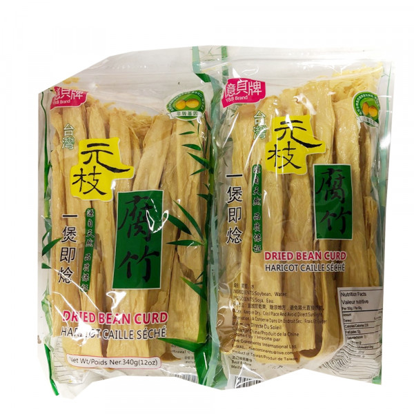 Dried Bean Curd / 元枝腐竹 - 340 g