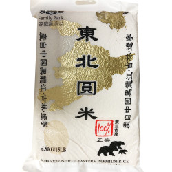 Northeast Round Rice / 东北 圆 米 - 15lbs