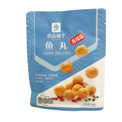 Bestore Fish Ball (Spicy flavor) / 良品铺子鱼丸(香辣味)- 100g