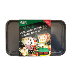 Vegetarian Pepper Flavor Meal Kit /袁鲜钵钵鸡藤椒全素版