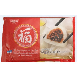 FuKu HongKong Style BBQ Flavour Bun / 福牌港式叉烧风味包 - 210g