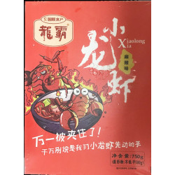 Frozen Crayfish / 龙霸小龙虾(麻辣味) - 750g