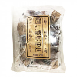 UME House Biscuits / 小梅屋红糖味梅饼 - 50g