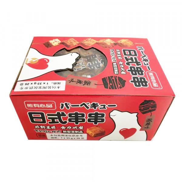 Soy Products (Spicy) / 熊有心品日式串串激辣味 - 33g*25/Box