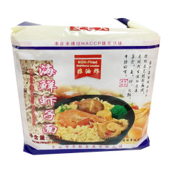 MaiLaoDa Dried Shrimp Noodles / 麦老大海鲜虾子面  - 780g