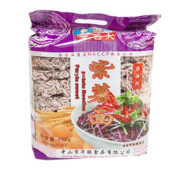 MaiLaoDa Purple Sweet Potato Noodles / 麦老大紫薯面  - 900g