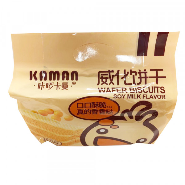 Wafer Biscuits Soy Milk Flavor / 威化饼干牛乳味