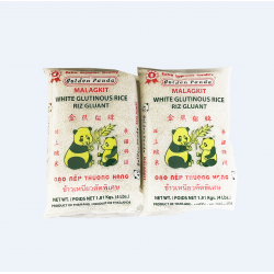 Golden Panda White Glutinous Rice/ 金熊猫牌顶上白糯米 - 4lb