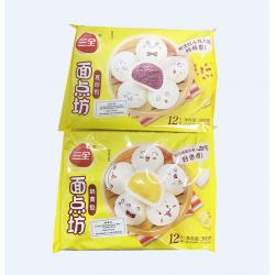 Frozen Bun / 三全豆沙包/奶黄包 - 360g