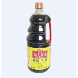 HaiTian Delicious light soy sauce / 海天鲜味生抽酱油 - 1.9L