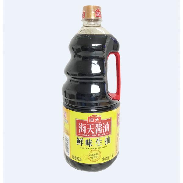 HaiTian Delicious light soy sauce / 海天鲜味生抽酱油 - 1.9L