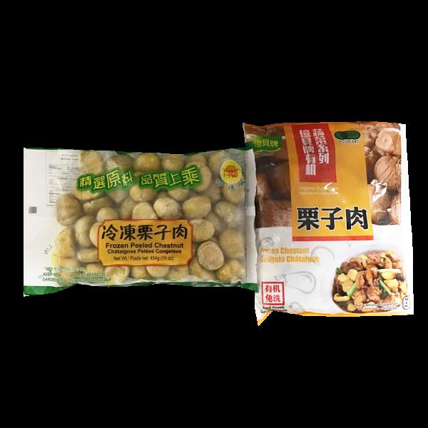 Frozen Peeled Chestnut  /冰冻栗子肉
