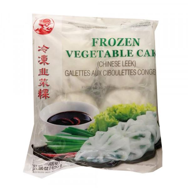 Frozen Vegetable Cake / 冷冻韭菜粿