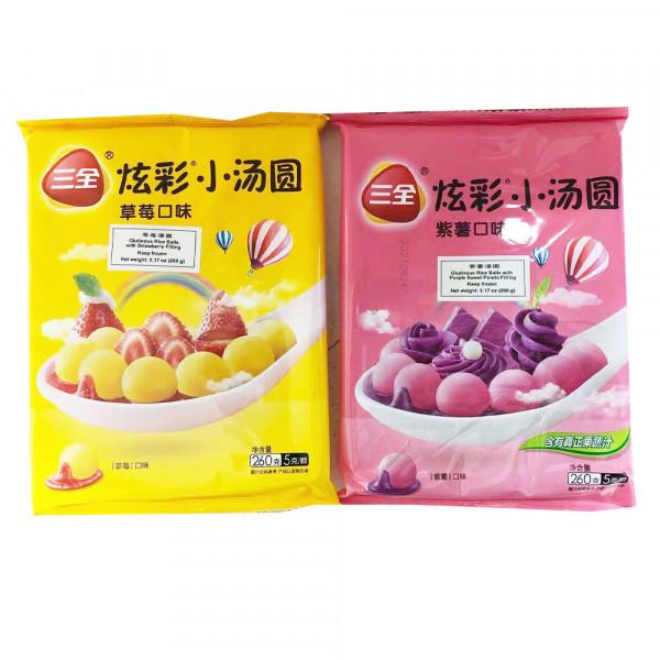 SanQuan Rice Flour Balls / 三全炫彩小汤圆