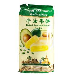 MaoShanWang Baked Avocado Flavour Cookie / 猫山王牛油果饼 -300g