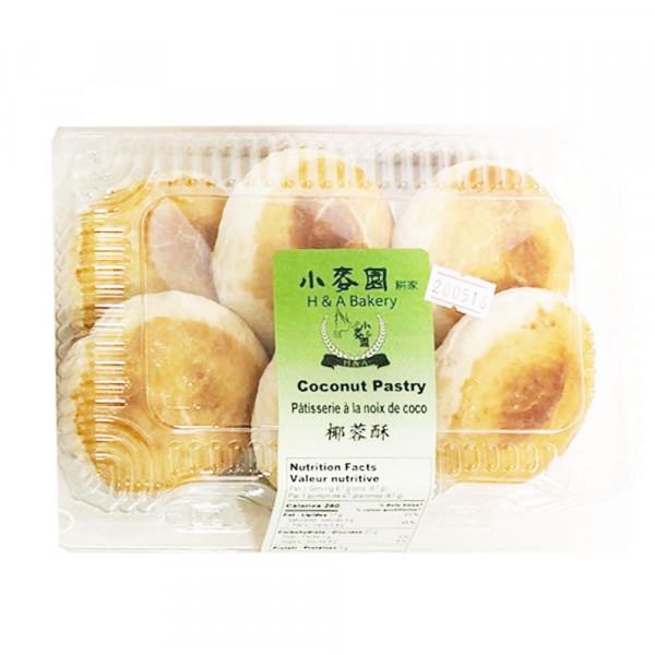 Coconut pastry / 小麦园椰蓉酥 - 6PCs