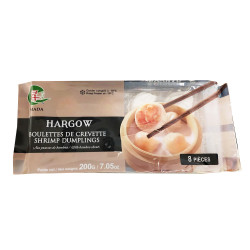 Hargow Shrimp Dumplings / 虾饺 - 200g