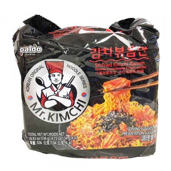 Stirried Kimchi Ramen /  手作泡菜干拌面 - 4*134g