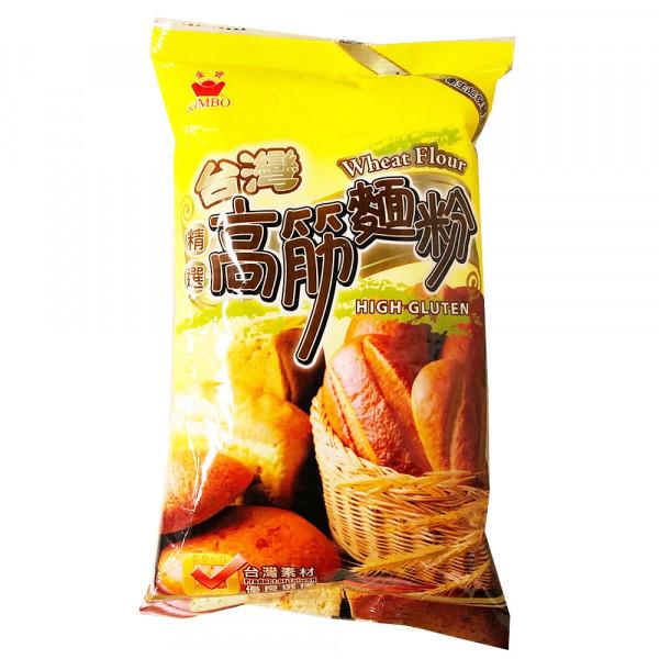 Wheat Flour (High Gluten)  / 高筋面粉 - 500g