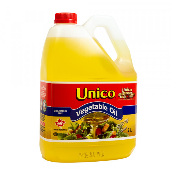 Unico Vegetable Oil - 3 L