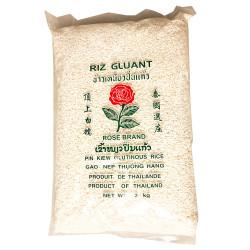 Rose Brand Pin Kiew Glutinous Rice/玫瑰牌顶上白糯米 - 2kg