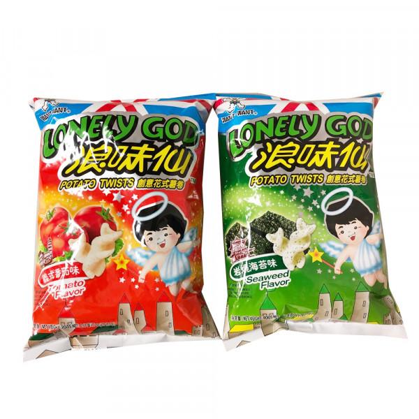 WANT-WANT Lonely God Potato Twists / 旺旺浪味仙 - 70 g