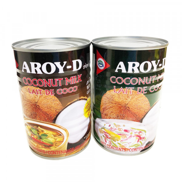 Aroy-D Coconut milk / Aroy-D 椰浆 - 400 mL