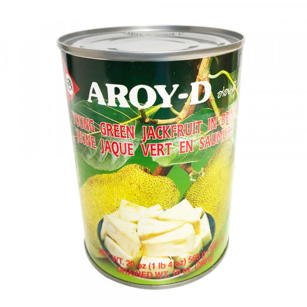 Aroy-D Young Green Jackfruit in Brine / Aroy-D 菠萝蜜饮料 565g