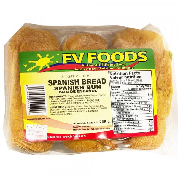 FV Foods Spanish Bread / FV Foods 西班牙面包 - 265g