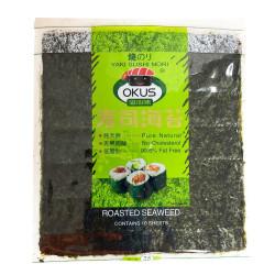 Okus Roasted Seaweed  / Okus 寿司海苔 - 10Pcs
