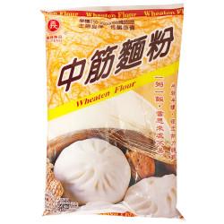 Wheaten Flour (Medium Gluten)  / 中筋面粉 - 400g