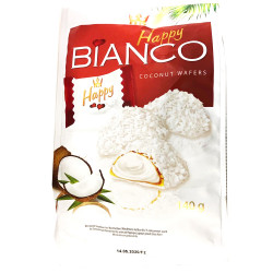 Happy Bianco Coconut Waffers / Happy 椰子威化饼 -140g