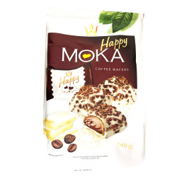 Happy Moka Coffer Waffers / Happy 咖啡威化饼 -140g