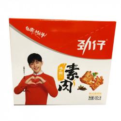 Jinzai Shousisurou - BBQ Flavour  / 劲仔手撕素肉之韩式烧烤味 - 20*23g
