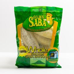 Whole Steamed Saba Bananas - 1 lb
