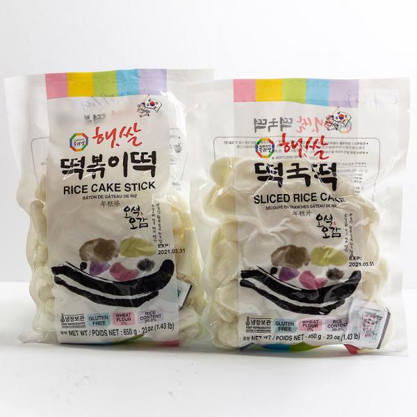 Rice Cake Stick Series / 年糕片 / 年糕条 650g
