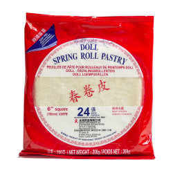 "Spring Roll Pastry 6""/8.5"""